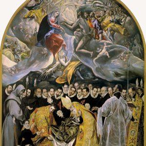 El Greco, Pogrzeb hrabiego Orgaza, manieryzm, Niezła Sztuka