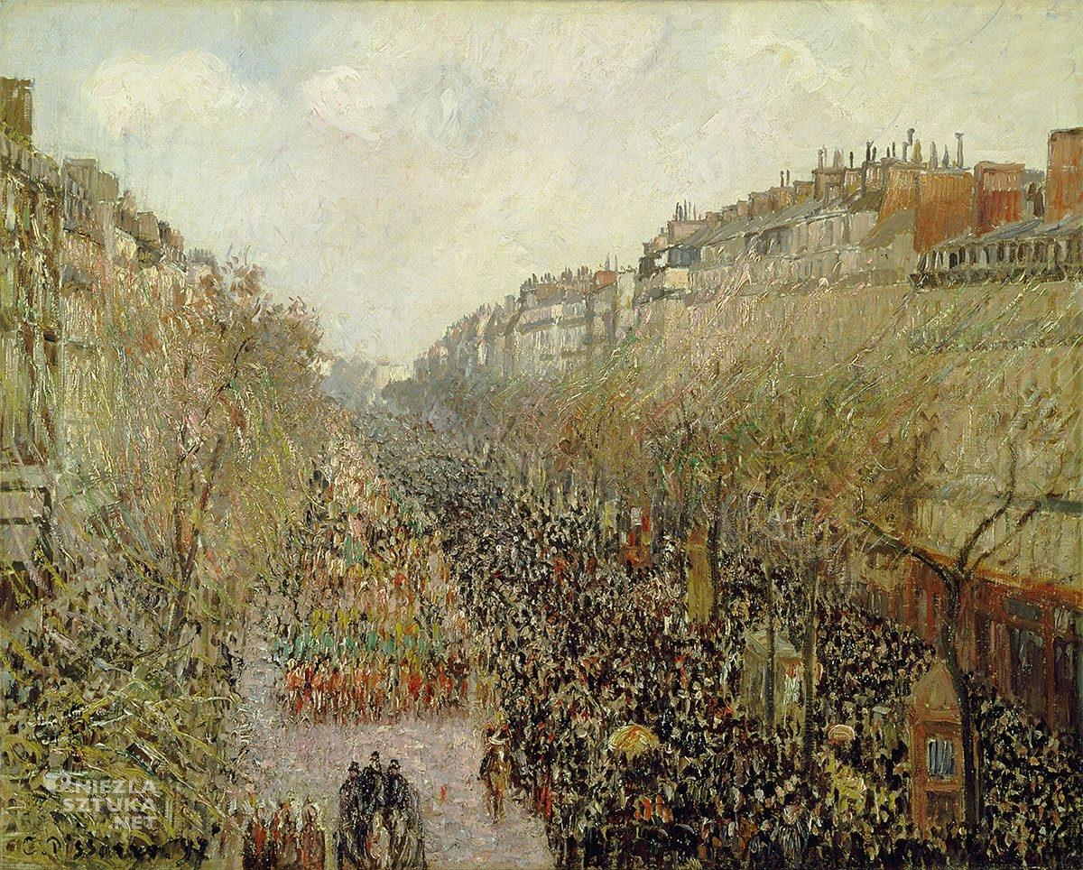 Camille Pissarro, Montmartre, Paryż, impresjonizm, Niezła Sztuka
