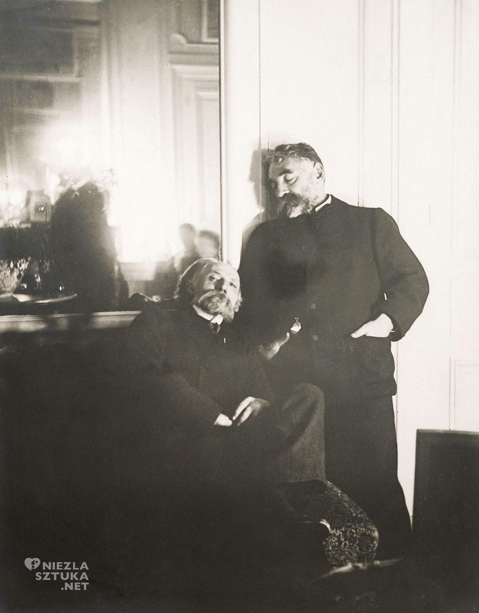 Edgar Degas, fotografia, Pierre-Auguste Renoir, Stephane Mallarme, impresjonizm, sztuka francuska, Niezła Sztuka