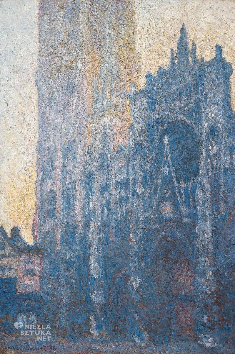 Claude Monet, Katera w Rouen, impresjonizm, Niezła Sztuka