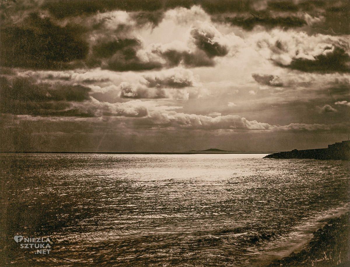 Gustave Le Gray, Morze Śródziemne, Sète, fotografia, Niezła Sztuka