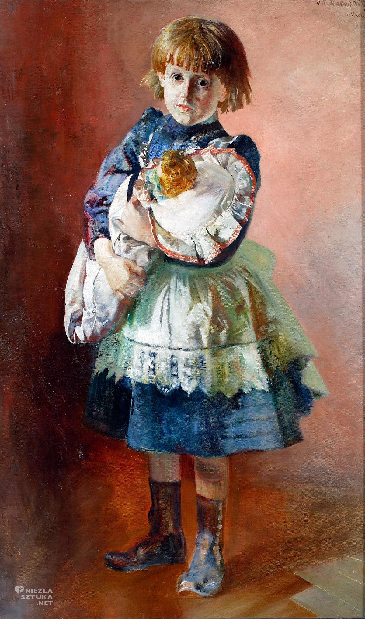 Jacek Malczewski, Portret Julii, Julia Malczewska, córka artysty, Niezła sztuka