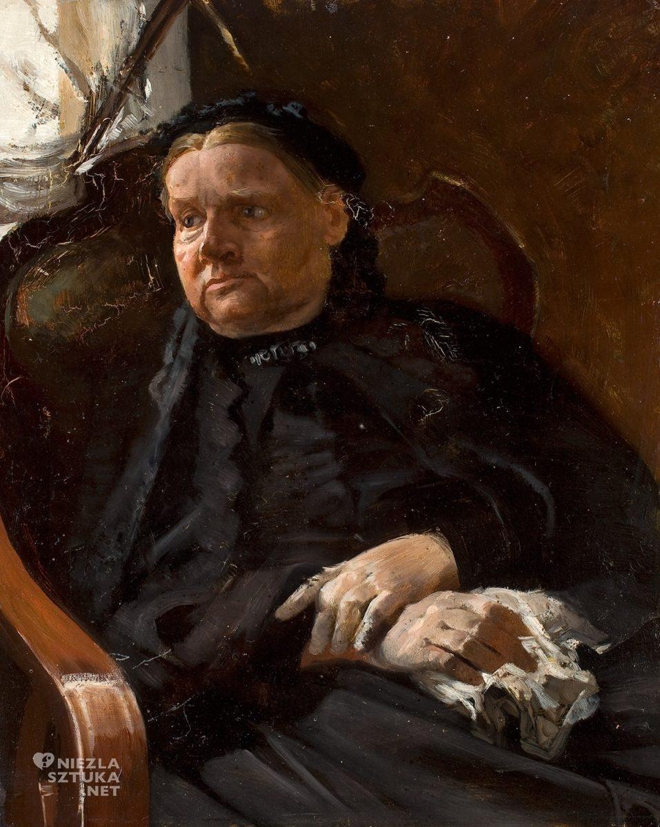 matka Jacka Malczewskiego, matka artysty, Maria Malczewska, Niezła sztuka
