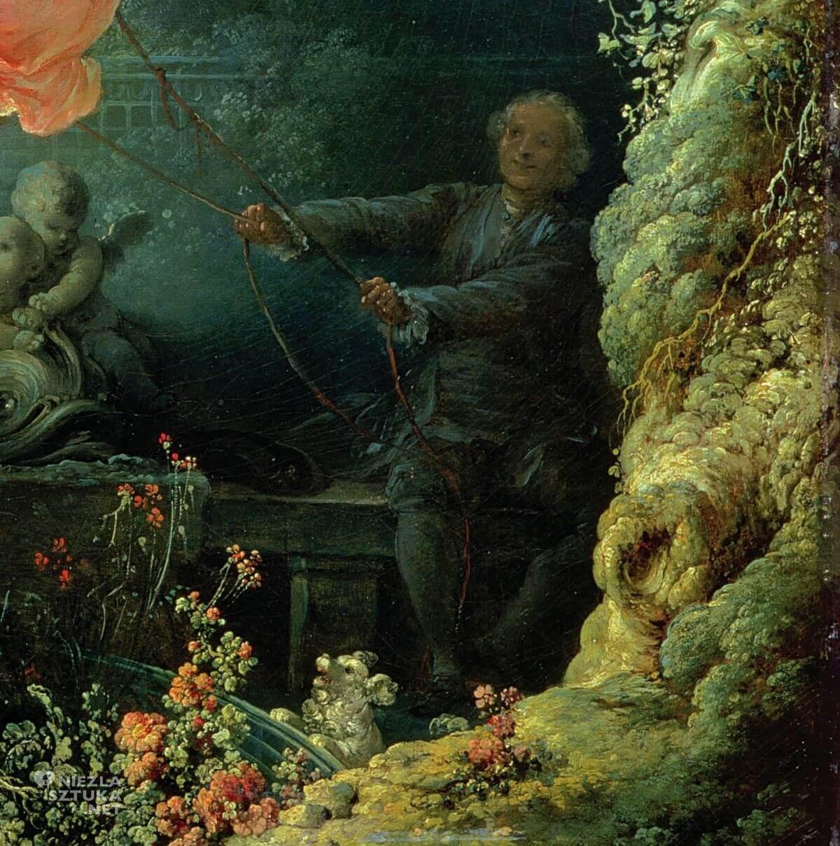 Jean Honoré Fragonard Huśtawka Niezła Sztuka