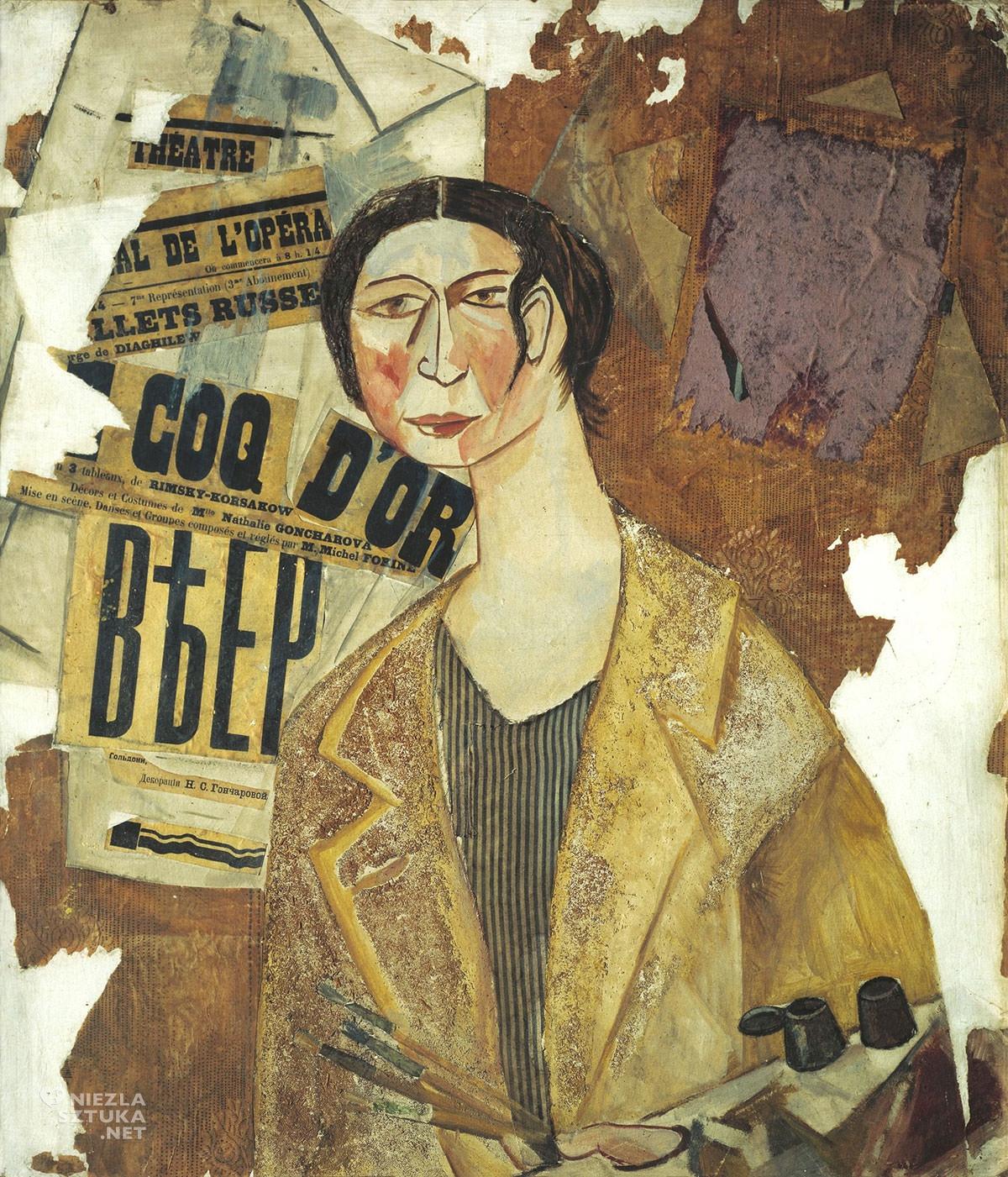 Michaił Łarinow, Natalia Gonczarowa, malarka, kobiety w sztuce, Niezła Sztuka