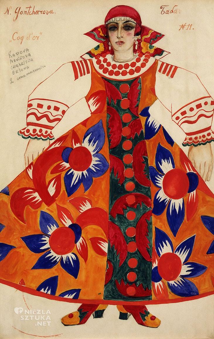 Natalia Gonczarowa, chłopka, malarka, kobiety w sztuce, Rosja, Niezła Sztuka