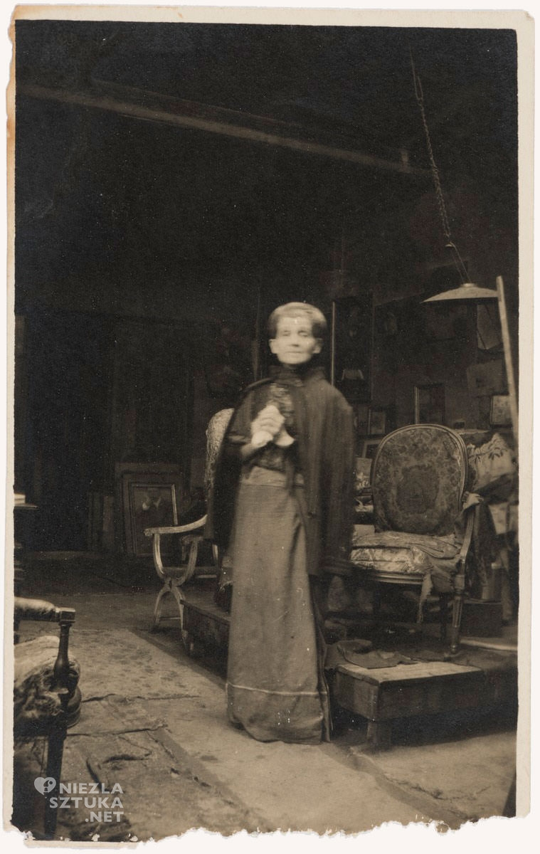 Olga Boznańska, atelier, Boulevard Montparnasse, Paryż, Niezła sztuka