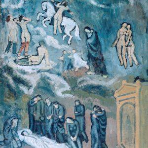 Pablo Picasso, Ewokacja (potrzeb Casagemasa), sztuka XX wieku, Niezła Sztuka