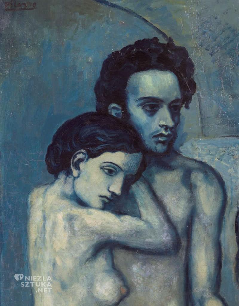 Pablo Picasso, Życie, detal, okres błękitny, sztuka XX wieku, Niezła Sztuka