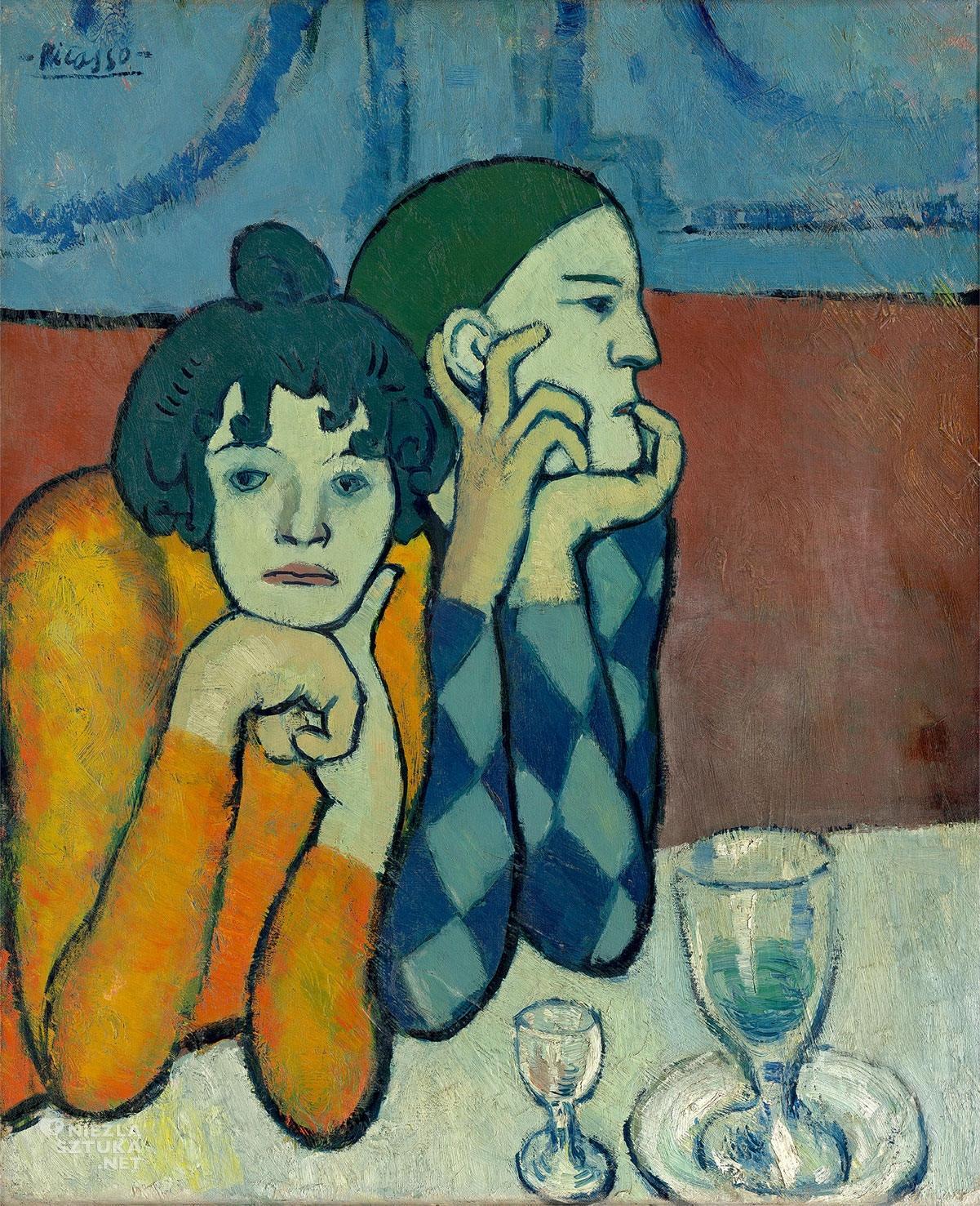 Pablo Picasso, Para akrobatów, sztuka XX wieku, Niezła Sztuka