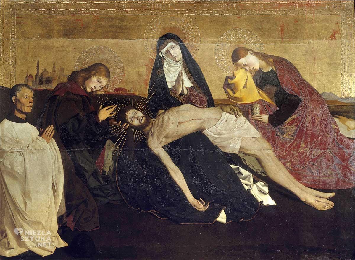 Enguerrand Quarton, Pieta z Awinionu, Niezła sztuka