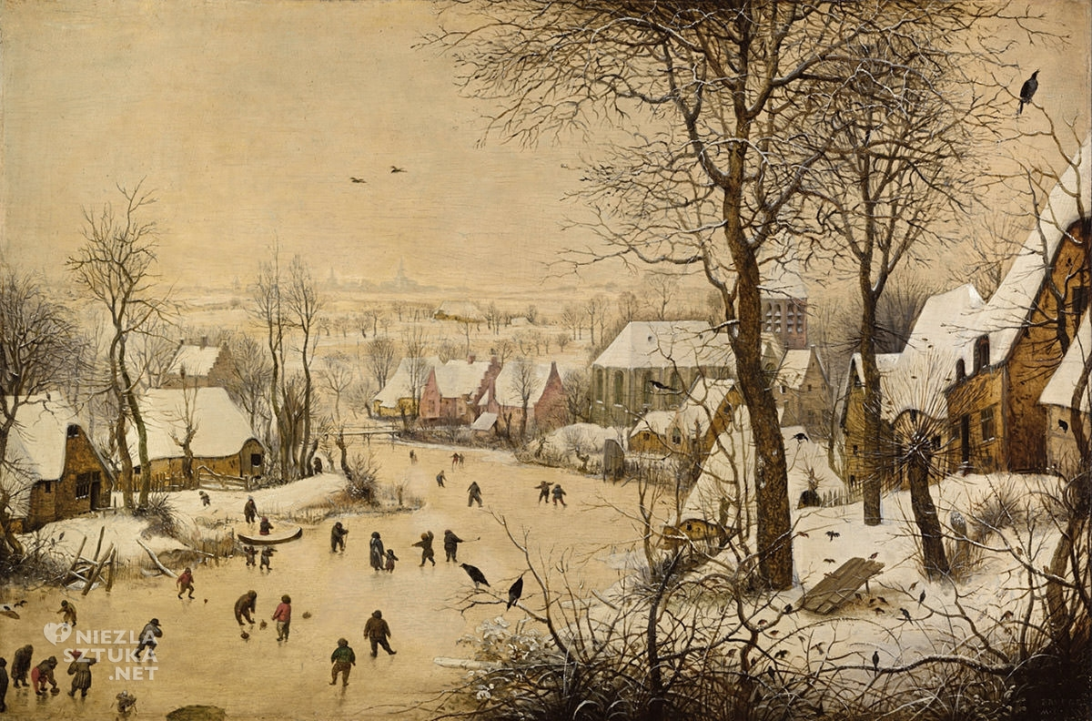 Pieter Bruegel, Zimowy pejzaż z łyżwiarzami, Niezła sztuka