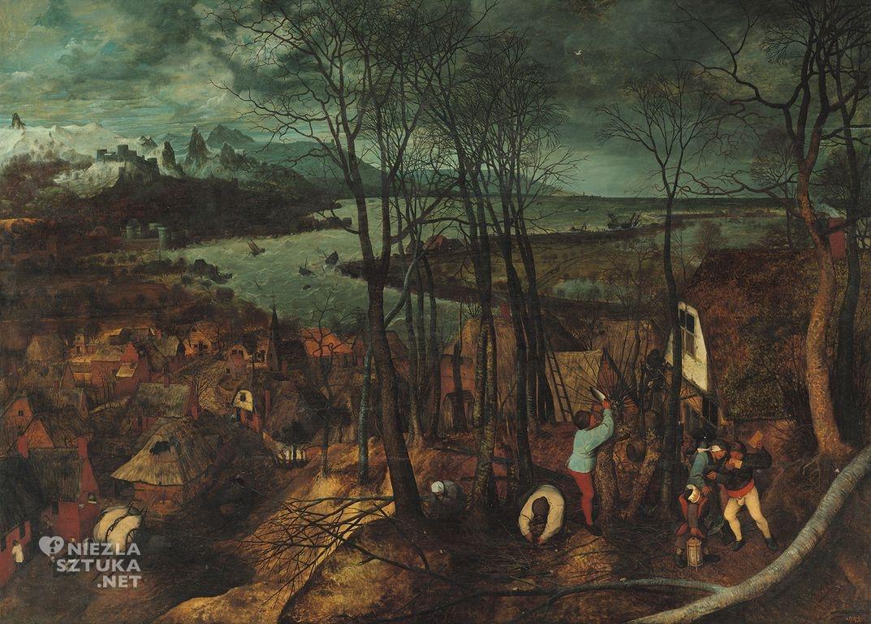 Pieter Bruegel Starszy, Posępny dzień, Wczesna wiosna, Niezła sztuka