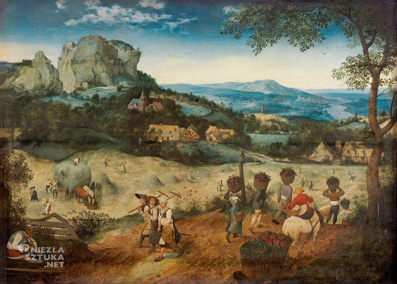 Pieter Bruegel Starszy, Sianokosy, Wczesne lato, Niezła sztuka