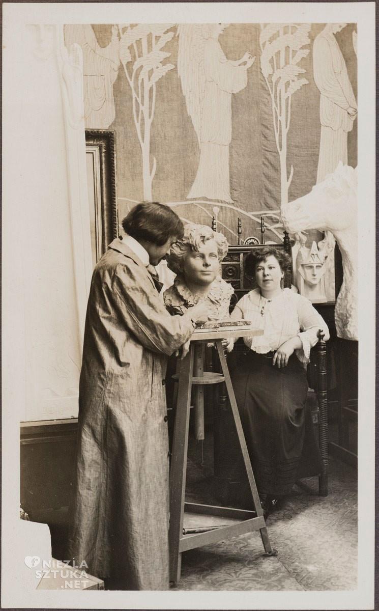 Bolesław Biegas, rzeźba, atelier, artysta w pracowni, Niezła sztuka