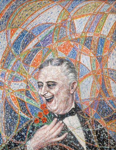 Bolesław Biegas, Roosevelt, portret, Niezła sztuka