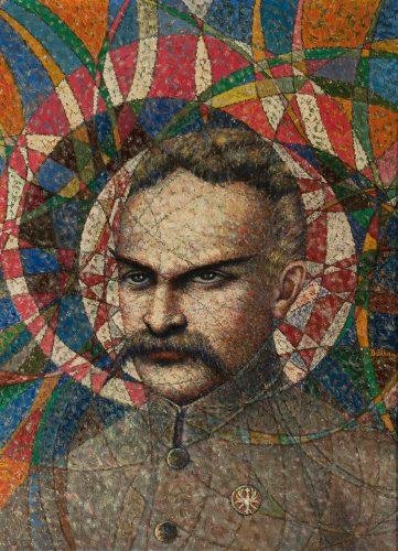 Bolesław Biegas, Józef Piłsudski, portret, Niezła sztuka