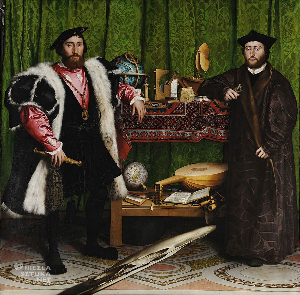 Hans Holbein Młodszy, Ambasadorowie, czaszka, Niezła sztuka