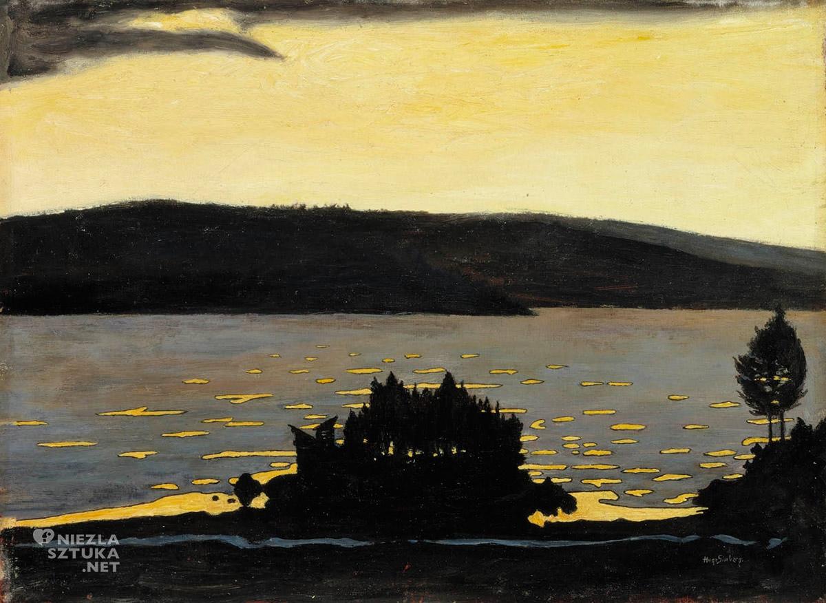 Hugo Simberg, sztuka skandynawska, Niezła sztuka