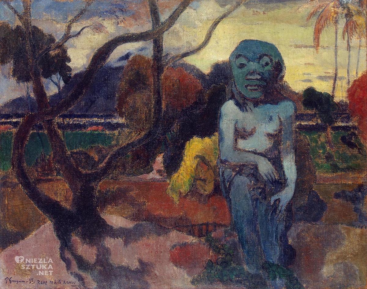 Paul Gauguin, Rave te iti aamu, postimpresjonizm, impresjonizm, postimpresjoniści, malarstwo Tahiti, malarstwo Polinezji, podróże Gauguina, Niezła Sztuka