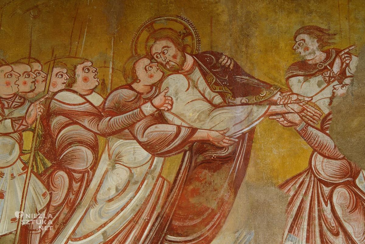 Zdrada Judasza, fresk, Niezła sztuka
