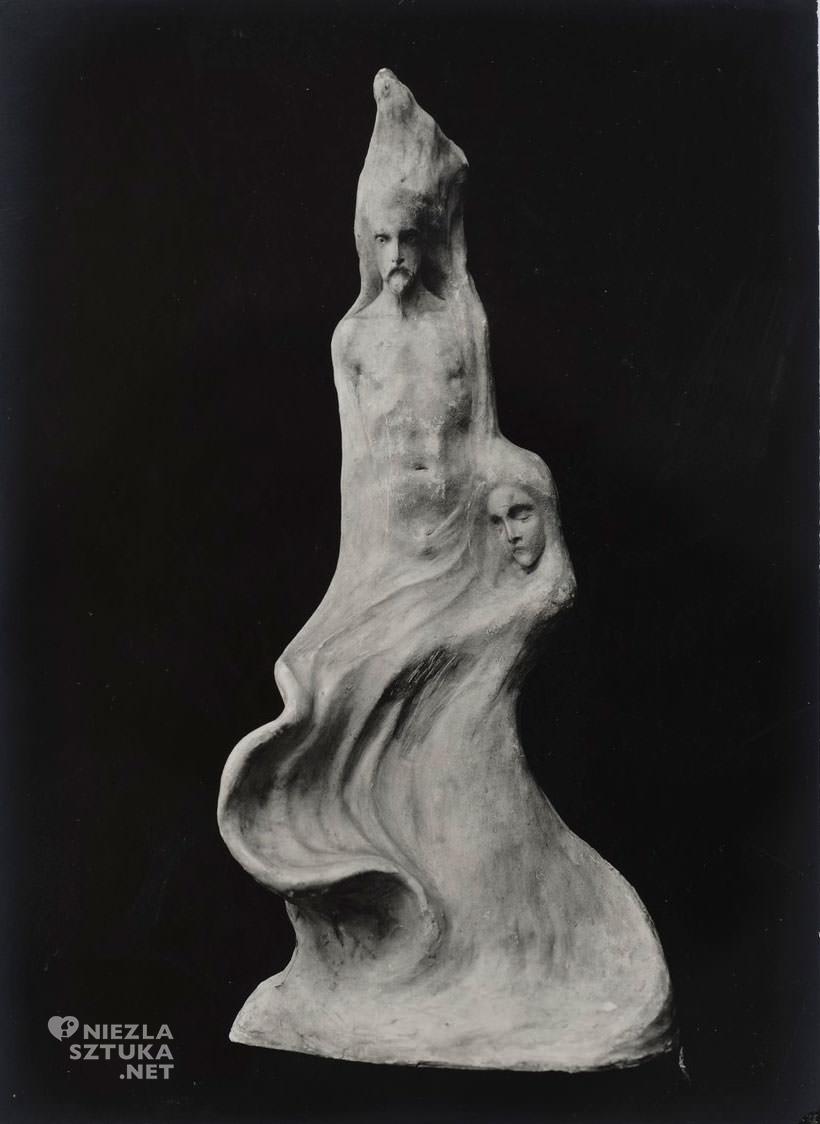 Bolesław Biegas, rzeźba, Niezła sztuka, Biblioteka Polska w Paryżu