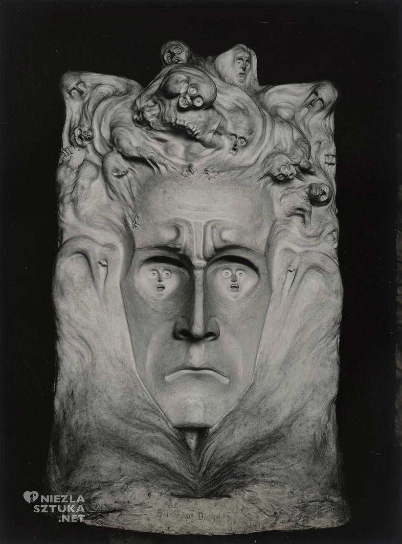 , Bolesław Biegas, rzeźba, Niezła sztuka, Biblioteka Polska w Paryżu