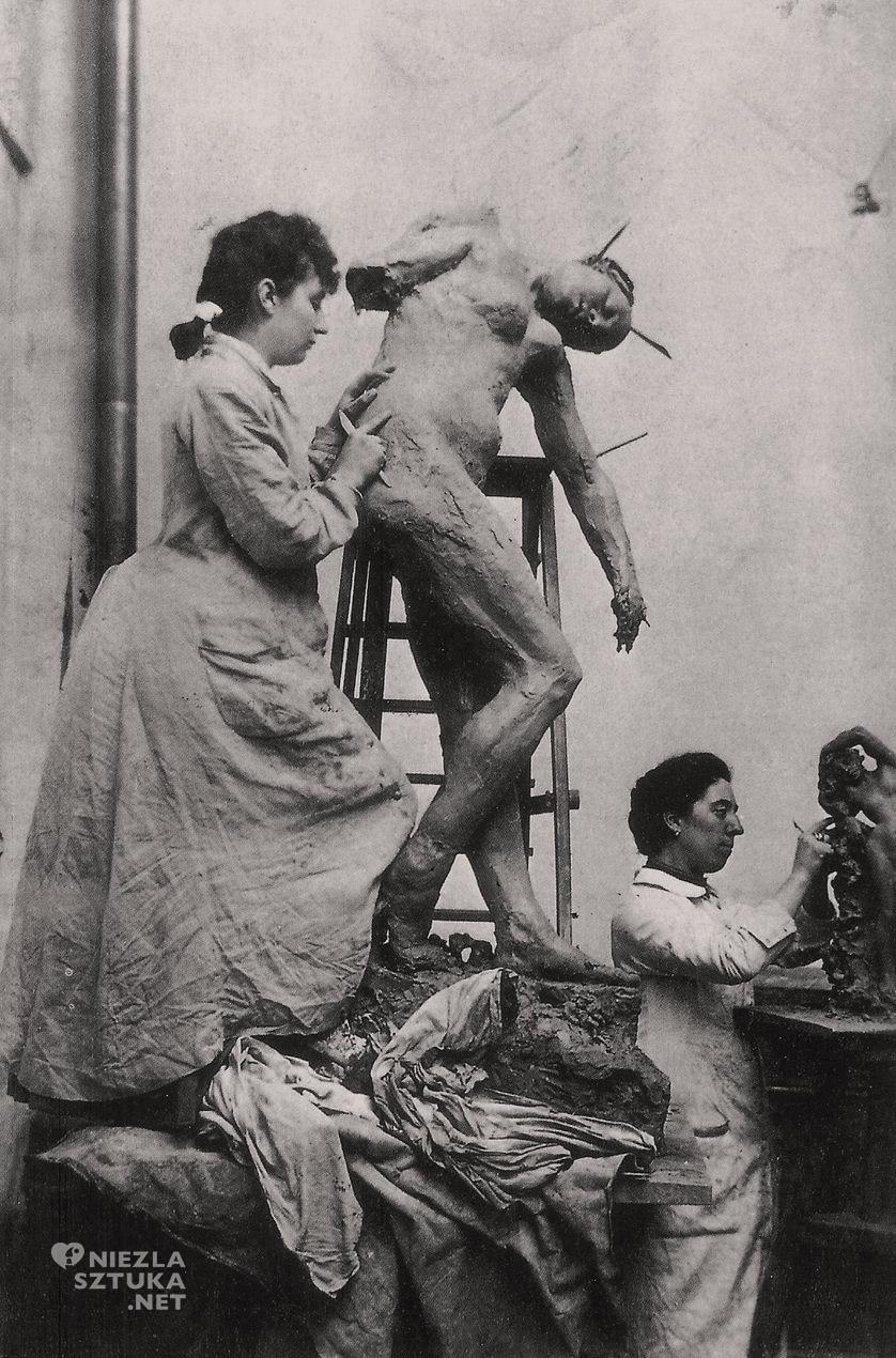 Camille Claudel, rzeźbiarka, rzeźba, artysta w pracowni, Niezła sztuka