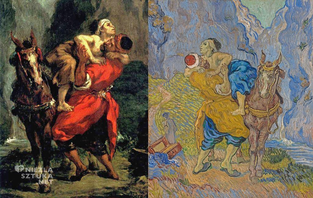Eugène Delacroix, Dobry Samarytanin, Vincent van Gogh, Niezła sztuka