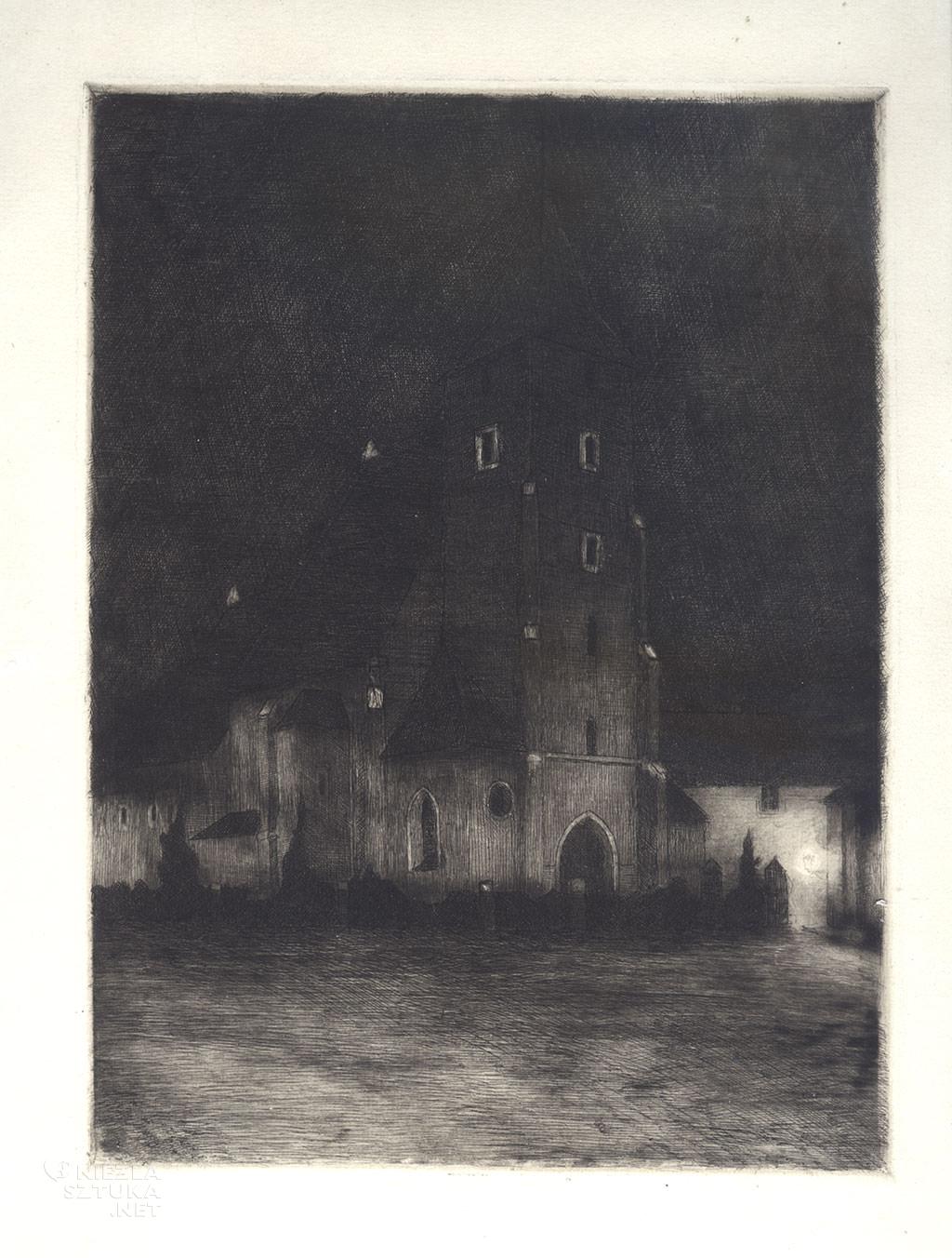 Soter Jaxa-Małachowski, nokturn, Kraków, Niezła sztuka