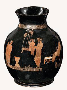 grecka waza, huśtawka, Niezła sztuka