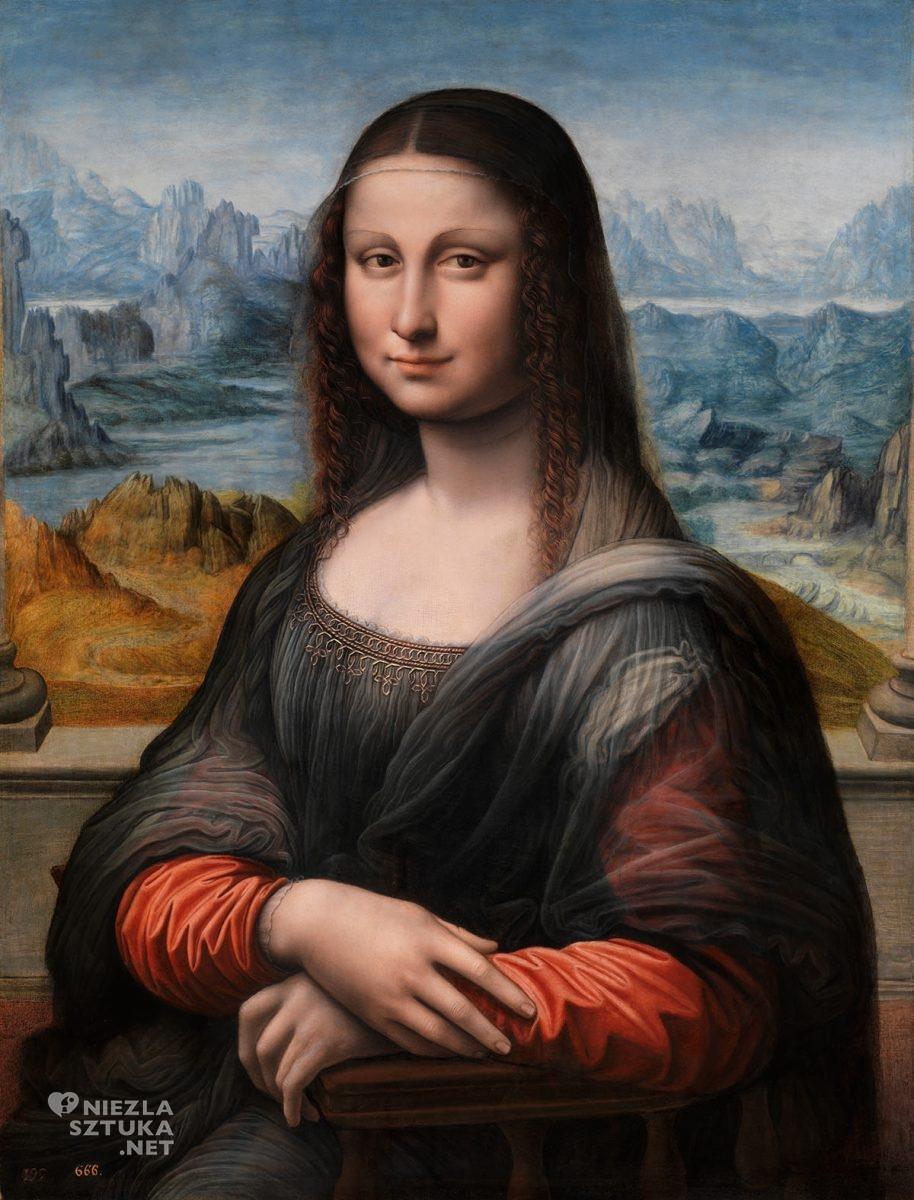 Mona Lisa, Gioconda, Leonardo da Vinci, renesans, sztuka włoska, Niezła Sztuka