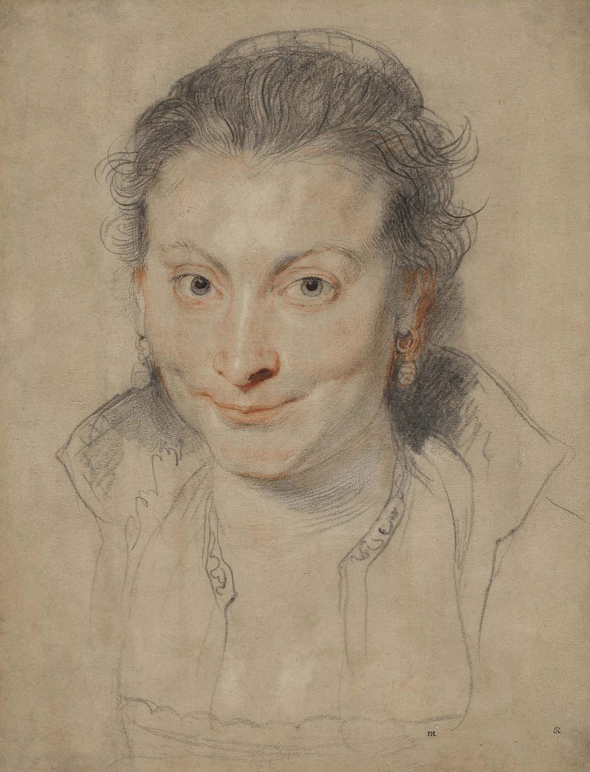 Peter Paul Rubens, Portret Isabelli Brant, żona artysty, sztuka europejska,Niezła Sztuka