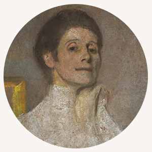 Olga Boznańska, slide, Niezła sztuka