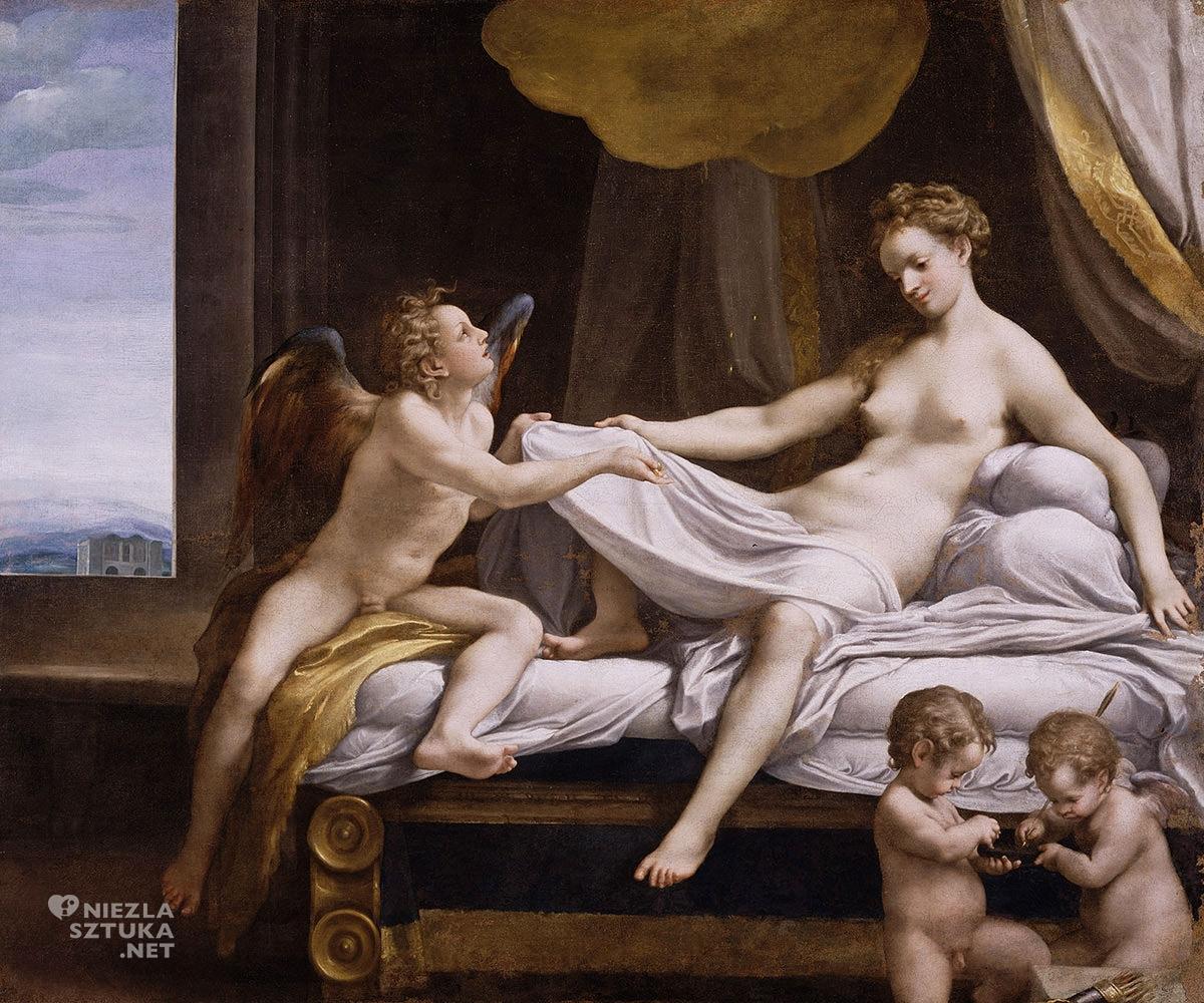 corregio, danae, galeria borghese, rzym, niezła sztuka
