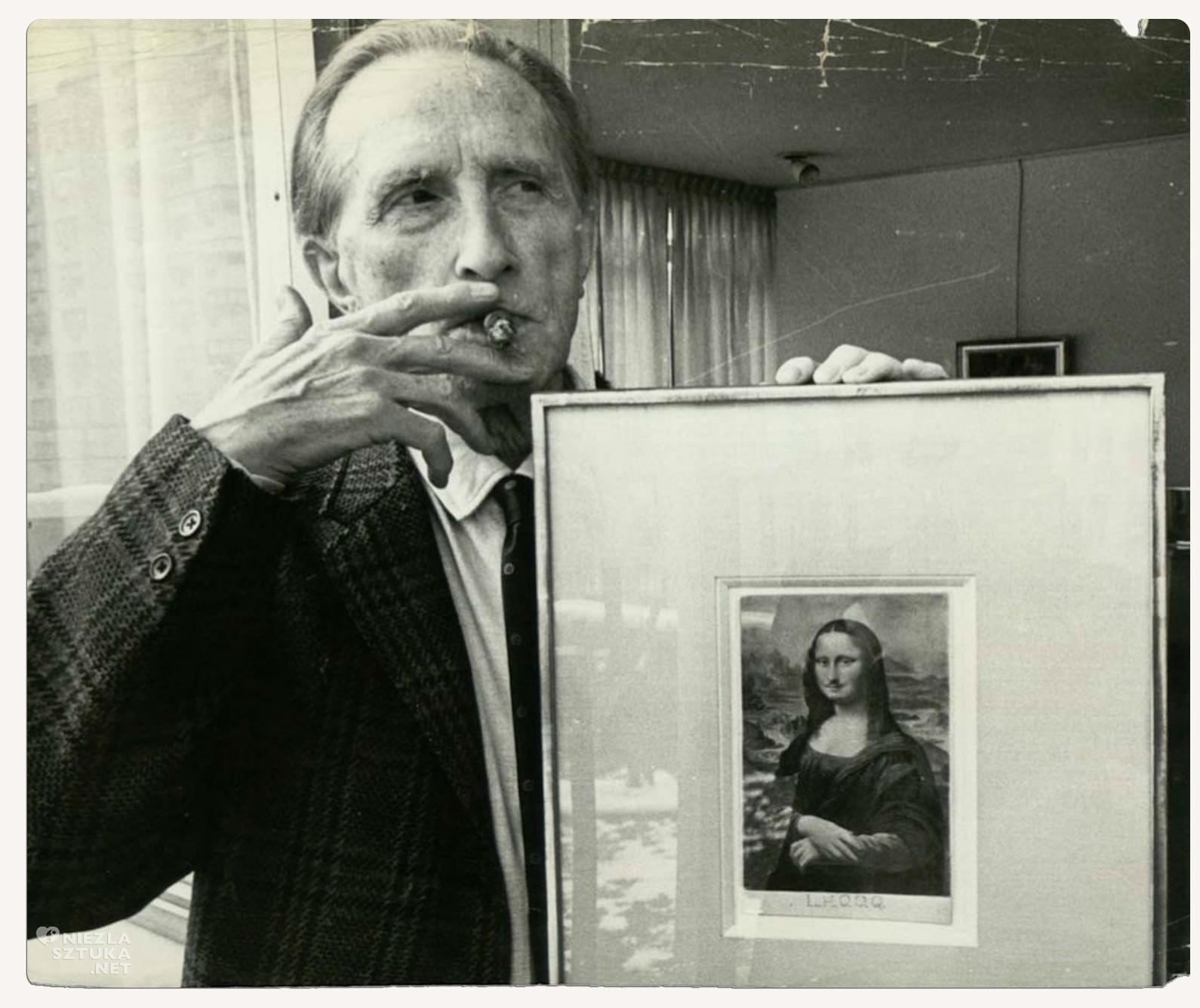 Marcel Duchamp, Mona Lisa LHOOQ, fotografia, Niezła sztuka