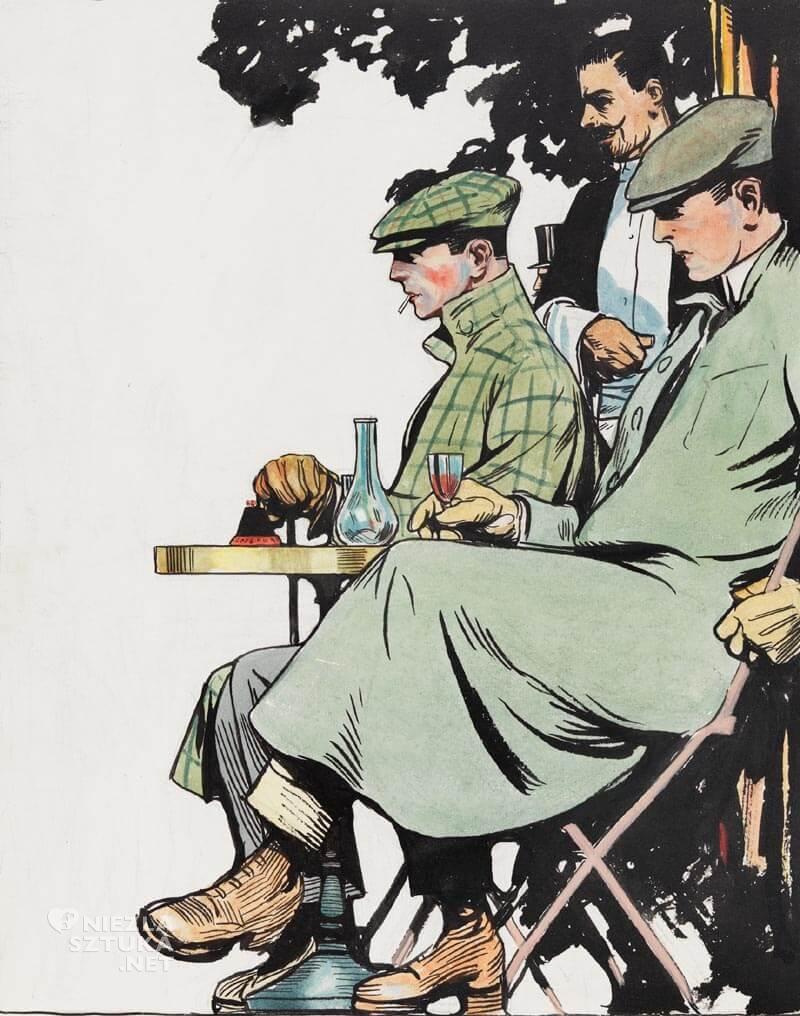 Edward Hopper, ilustracja, malarstwo, Niezła sztuka