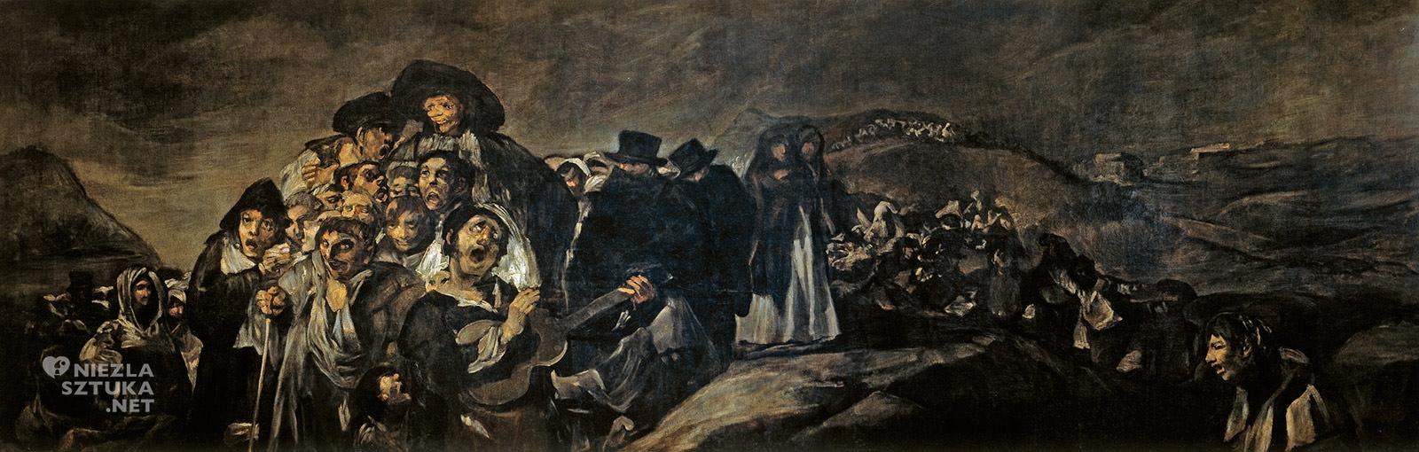 Francisco Goya, czarne obrazy, prado, madryt, Niezła sztuka