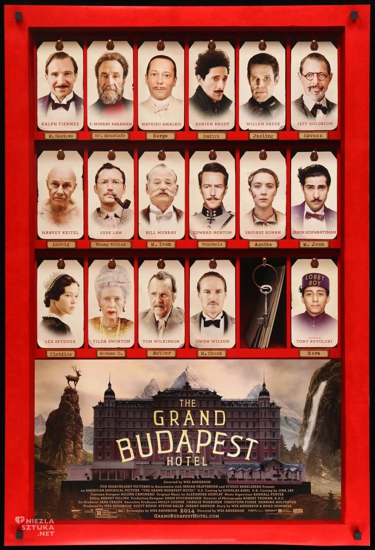 Grand Budapest Hotel, Niezła sztuka