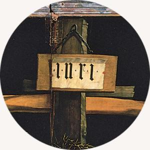Matthias Grünewald, Ołtarz z Isenheim, Ukrzyżowanie,Niezła Sztuka