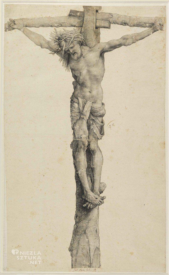Matthias Grünewald, Chrystus na krzyżu, Niezła Sztuka