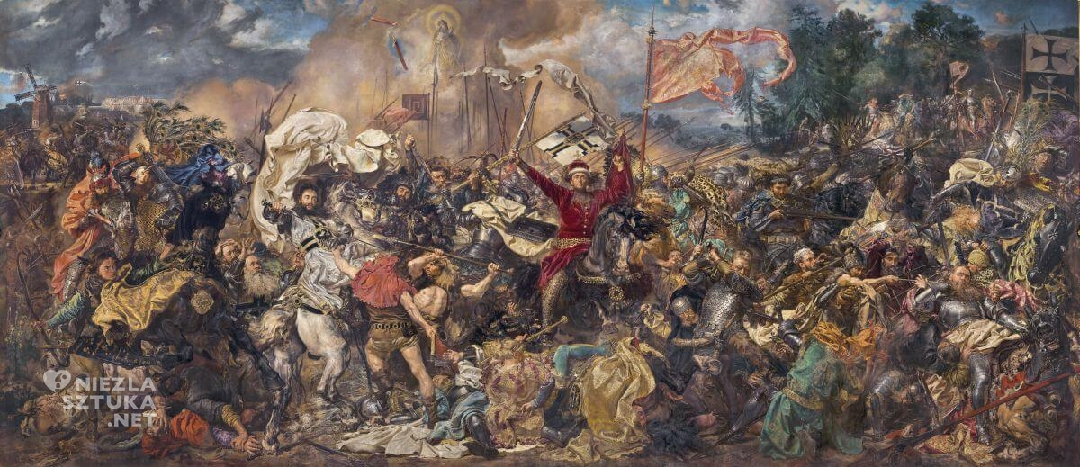 Jan Matejko, Bitwa pod Grunwaldem, sztuka polska, malarstwo polskie, Niezła sztuka