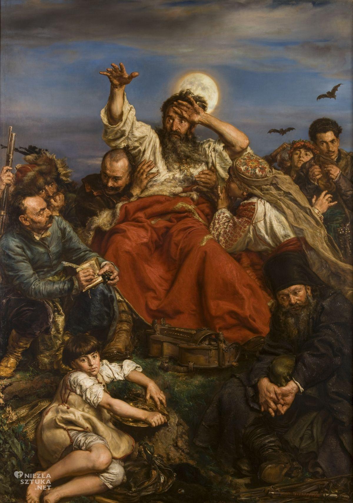 Jan Matejko, Wernyhora, sztuka polska, malarstwo polskie, Niezła sztuka