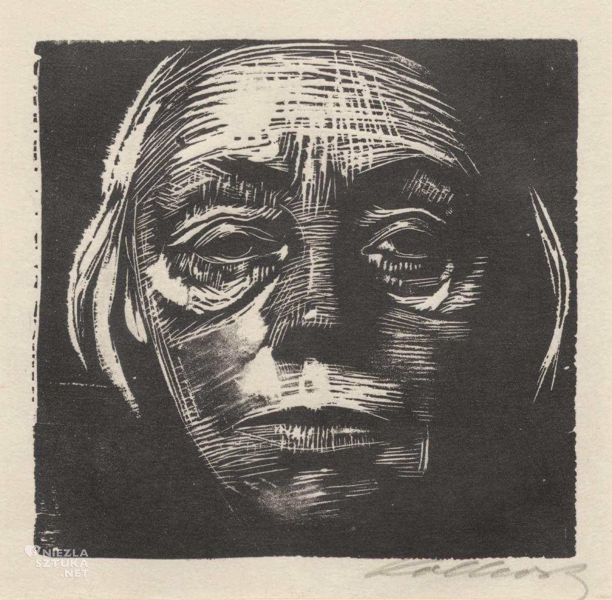 Kathe Kollwitz, Autoportret, Niezła sztuka