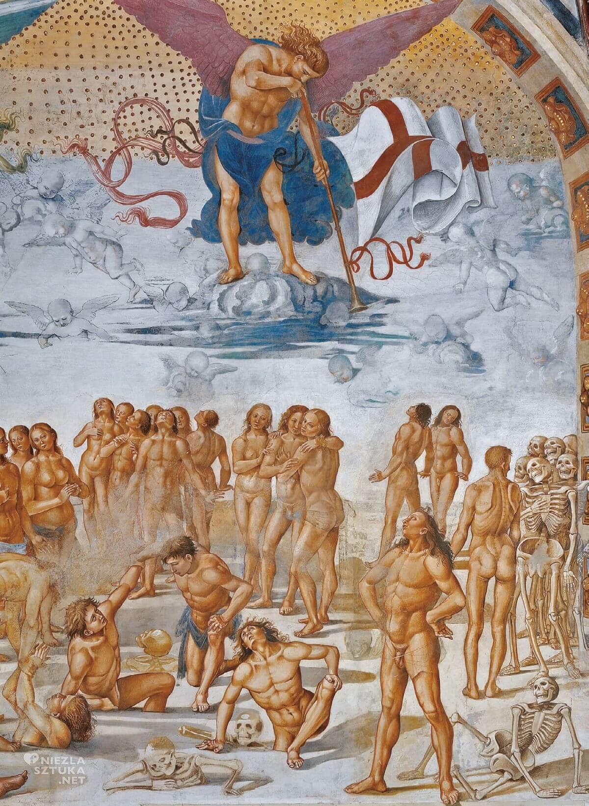 Luca Signorelli, fresk, katedra w Orvieto, capella di San Brizio, sztuka włoska, Niezła sztuka