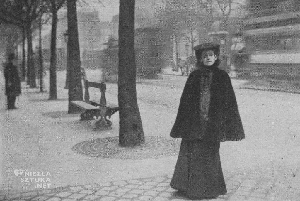 Olga Boznańska w Paryżu na Boulevard Montparnasse, sztuka polska, malarstwo polskie, Niezła sztuka