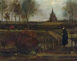 Vincent van Gogh, Ogród przy plebanii w Nuenen wiosną, skradziony van gogh, Niezła sztuka