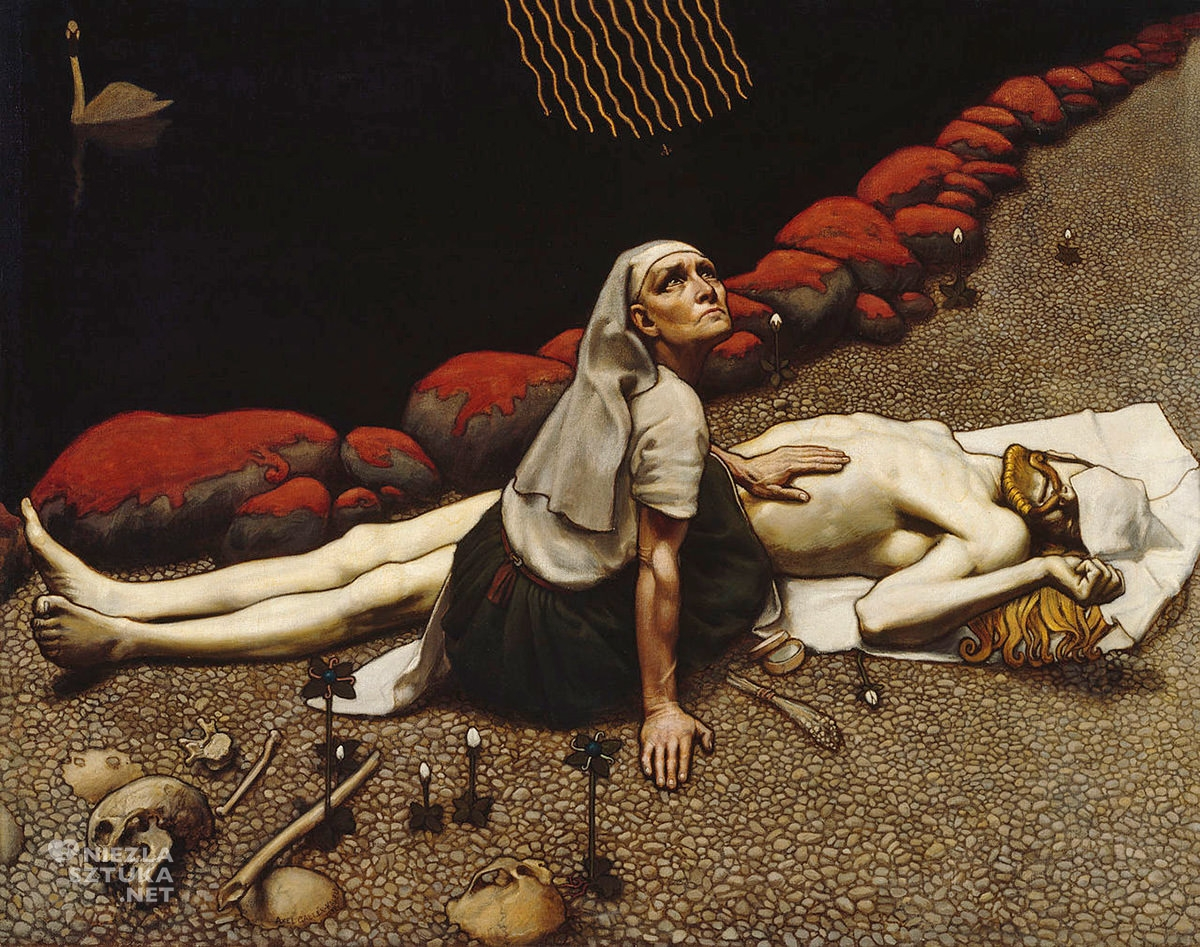 Akseli Gallen-Kallela, sztuka fińska, sztuka europejska, malarstwo, Niezła Sztuka
