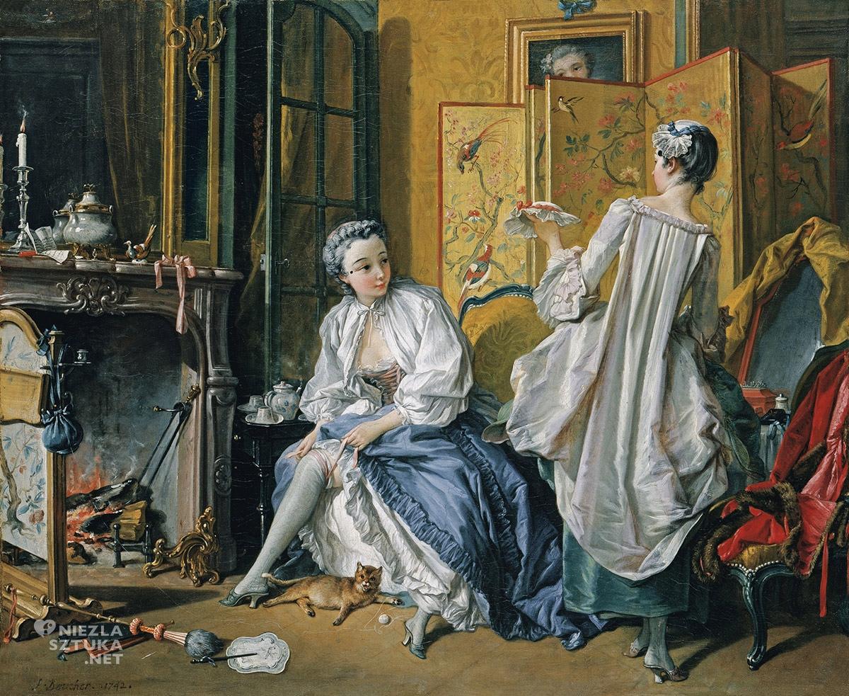 François Boucher, malarstwo francuskie, rokoko, sztuka i moda, Niezła sztuka