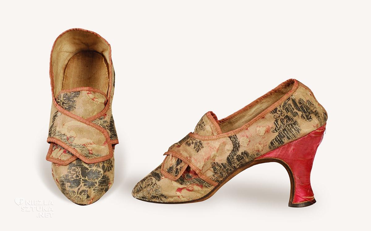 buty, moda francuska, rokoko, Niezła sztuka